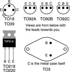 Transistor leads