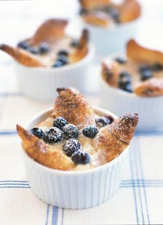 Blueberry Croissant Puff//