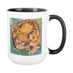 Toad On A Mug