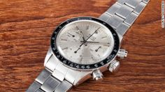 """This Rolex 6263 Daytona """"Albino"""", one of only three in the world, is one of the top lots at an upcoming Phillips auction in Geneva, on May 10."""