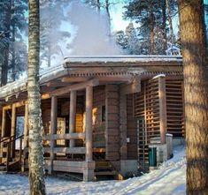 Kuusijärvi sauna Helsinki, Sunday Morning, Cabin, English, House Styles, Places, Travel, Life, Viajes