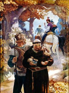 N. C. Wyeth (1882-1945) Robin Hood and Friar Tuck
