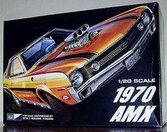 mpc 1970 AMX Big 1/20 scale Plastic model car kit open unbuilt - http://hobbies-toys.goshoppins.com/models-kits/mpc-1970-amx-big-120-scale-plastic-model-car-kit-open-unbuilt/