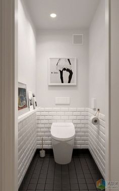 Scandinavian bathroom design ideas with white shades that you . - Scandinavian bathroom design ideas with white shades that you - Small White Bathrooms, Scandinavian Bathroom Design Ideas, Small Toilet Room, Shower Room, White Bathroom, Interior Remodel, Bathroom Design Small, Bathroom Inspiration, Downstairs Toilet