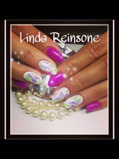Aquarelle nail art Ideas Para, Nail Art, Nails, Beauty, Finger Nails, Ongles, Nail Arts, Beauty Illustration, Nail Art Designs