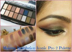 Everyday Neutral/ Smokey Eyes with Makeup Revolution Iconic Pro 2 Palette
