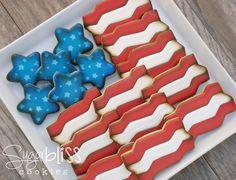 SugarBliss Cookies: SugarBliss Stars & Stripes