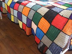 French Crochet bedspread blanket