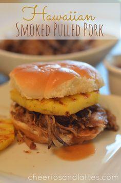 Hawaiian Smoked Pulled Pork