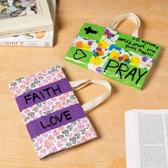 Duck Tape Bible Cover - OrientalTrading.com