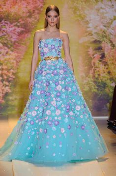 Favorite Dress from the Zuhair Murad Haute Couture Spring 2014 Collection