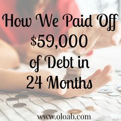 There is no easy, or fast way to pay off debt. The good news is that with some changes in your spending it can be done though. Life On A Budget, I Pay, Debt Payoff, Our Life, Rid, Budgeting, Money, News