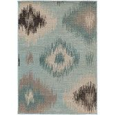 Found it at Joss & Main - Stephanie Teal/Beige Area Rug