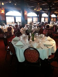 Wine Themed Wedding Reception view of our 2nd floor