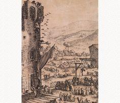 Jacques Callot, L'Impruneta, 1623, détail