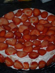 Lihtne Maasika-kohupiimatort