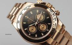 Rolex [NEW] Daytona Rose Gold 116505 Black Dial(Retail:HK$269,300) - Special Deal:- HK$206,000.