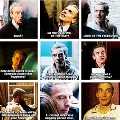 Capaldi is definitely the Doctor. I accepted him from the moment he popped out and shushed Strax! I love him already! :)
