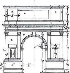 Architectural Arch Diagram Image