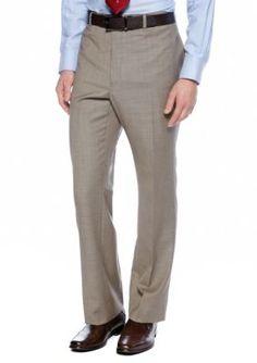 Tommy Hilfiger Men's Classic Fit Shark Suit Separates Pants - Tan/Khaki - 38 X 30