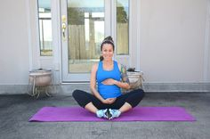 6 Soothing Prenatal Stretches for Pregnancy Pain - Diary of a Fit Mommy Post Pregnancy Workout, Prenatal Workout, Mommy Workout, Prenatal Yoga, Pregnancy Fitness, Pregnancy Health, Pregnancy Tips, Sciatica Pain Relief, Sciatic Pain