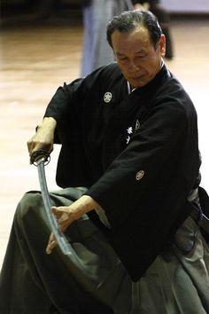 Muso Jikiden Eishin-ryu / 無双直伝英信流 I trained in this school briefly.