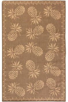Luau All-Weather Area Rug - All-weather Rugs - Outdoor Rugs - Rugs… Pineapple Palm, Pineapple Kitchen, Tropical Decor, Coastal Decor, Hawaiian Decor, Outdoor Rugs, Outdoor Living, Carpet Runner, Luau