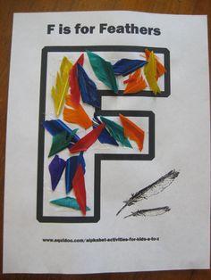 Letter F: Alphabet Activities for Kids