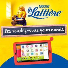 Jeu 100% gagnant Les Rendez-vous Gourmands La Laitière Tentez de gagner un pack Samsung Cuisinix sur www.enviedebienmanger.fr/cora