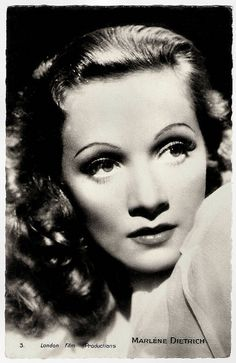 Marlene Dietrich | French postcard by Editions Chantal, Rueil, no. 3. Photo: London Film Productions. Publicity still for Knight Without Armour (Jacques Feyder, 1937)