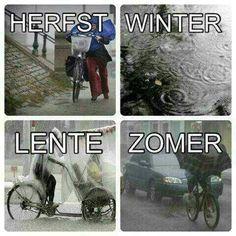 Seizoenen in Nederland