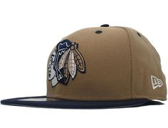 Custom NEW ERA x NHL「Chicago Blackhawks 2T Team Basic」 59 Fifty Fitted Baseball Cap