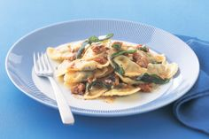 Warm souls and tummies with this week's food fight winner of creamy ricotta agnolotti and rustic burnt butter sauce!