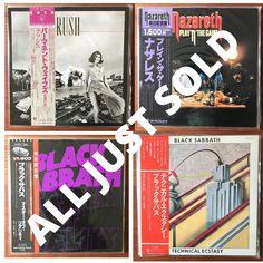 Heavy Rock, Rare Vinyl, Black Sabbath, Rock Music, Vinyl Records, Turning, My Life, How To Apply, Rock