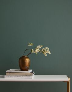Current Mood is a deep, moody green paint color for those who aren't afraid to bring the drama. This bold, dark green is both intense and alluring. Shop now. Green Paint Colors, Interior Paint Colors, Diy Interior, Interior Design Kitchen, Office Paint Colors, Green Interior Design, Scandinavian Interior, Contemporary Interior, Home Office Paint Ideas