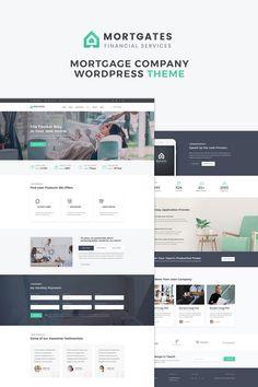 Mortgates - Financial Services WordPress Theme Big Screenshot