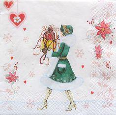 Set of 2 pcs 3-ply ''Tiffany'' paper napkins by MSNapkinsSupply
