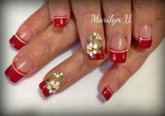 Pretty Nail Designs, Paws And Claws, Pretty Nails, Finger, Nail Art, French Tips, Nifty, Beauty, Yellow Nails