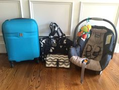 Flying with a Baby For the First Time: One mom shares her tips and tricks from her first experience flying solo with a baby
