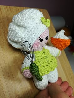 ❤ MissCook Amigurumi Chef Pattern by AmyMamy Creations Ravelry