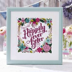 """""""""""Love, actually"""" is a project available in Cross Stitch Crazy 214 by #EmmaCongdon from #stitchrovia #craft #embroidery #crossstitching #gift…"""""""