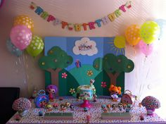 Lalaloopsy cake table (:
