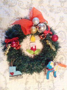 Gift Christmas wreath