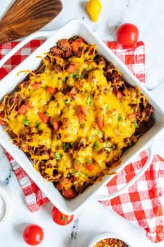 Chili Dog Casserole, Cheeseburger Casserole, Chili Cheese Dogs, Chili Dogs, Bariatric Recipes, Keto Recipes, Cooking Recipes, Hot Dogs And Beans, Homemade Chili