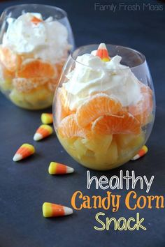 Looks yummy, but not the same flavor as real candy corn.