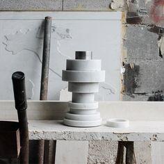 Moreno Ratti's marble vase stacks like a mathematical puzzle