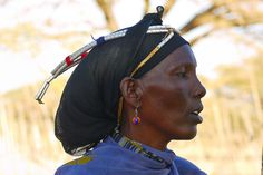 A Gabbra woman. Kalacha, Chalbi Desert | © Rita Willaert