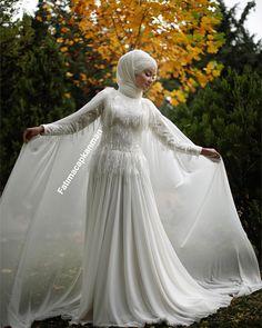 Asian Wedding Dress, Muslim Wedding Dresses, Muslim Brides, Short Bridesmaid Dresses, Dream Wedding Dresses, Bridal Dresses, Wedding Gowns, Hijab Bride, Engagement Dresses