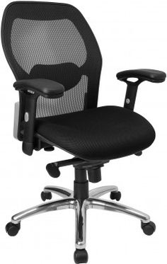 flash furniture mid back mesh office chair with chrome base back