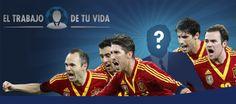 El trabajo de tu vida en Sefutbol acompañando a la Selección Española a Brasil. Participa!!!